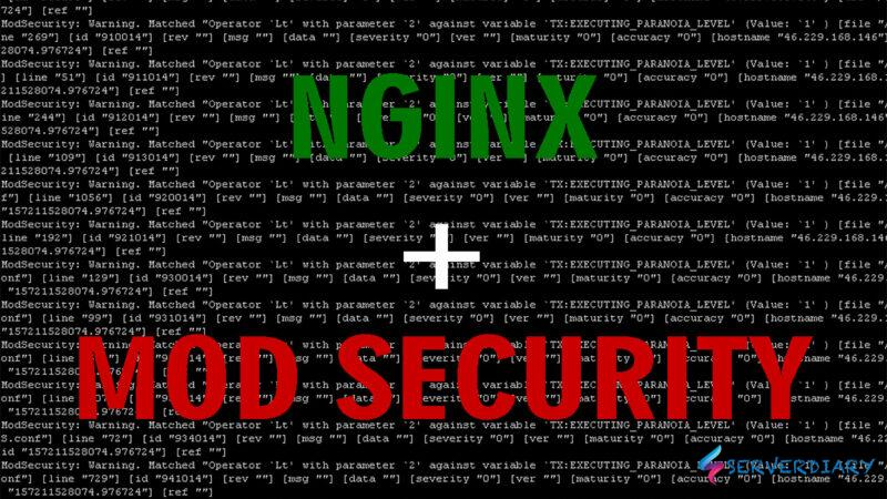 How to install and configure Nginx ModSecurity on Centos 8