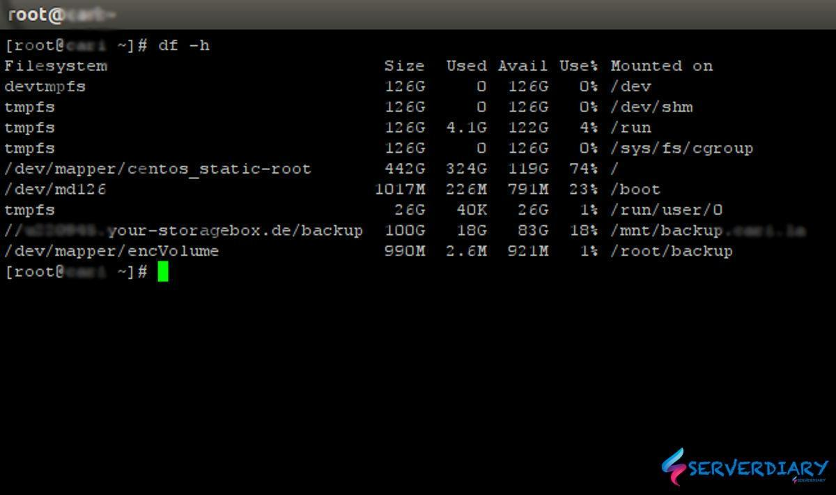 How to create encrypted disk image with Linux LUKS format using Cryptsetup
