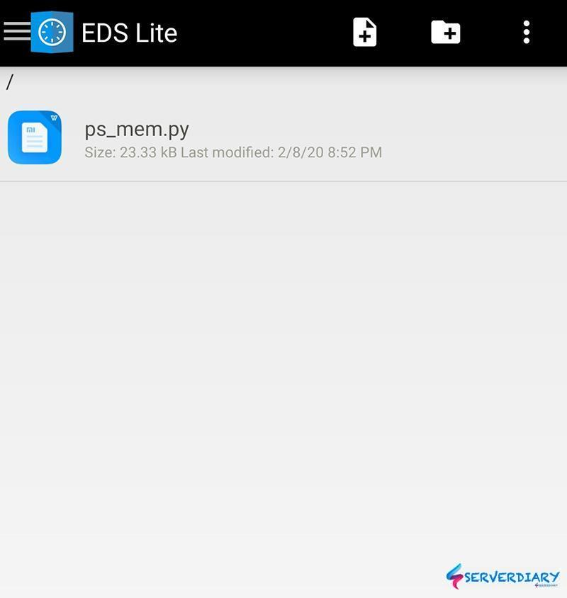 VeraCrypt container successfully opened on Android