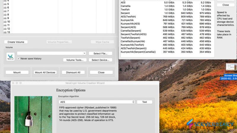Encrypt your files with VeraCrypt on Linux, Windows and Mac OS